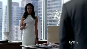 jessica suits white dress