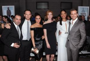 suits cast red carpet