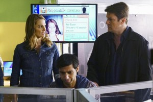 STANA KATIC, ALY MAWJI, NATHAN FILLION