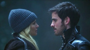 Once Upon a Time's Emma and Hook were my favorite TV couple in 2014.