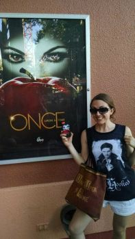 I was basically a walking advertisement for Once Upon a Time on this trip. ABC should be paying me at this point.