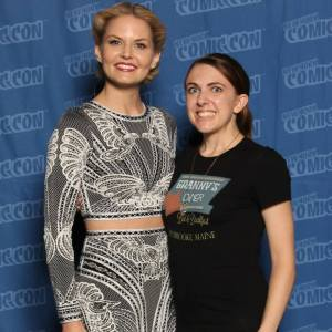 I want to say thank you again to Jennifer Morrison for being so kind to me and all her fans at NYCC. She's the best!